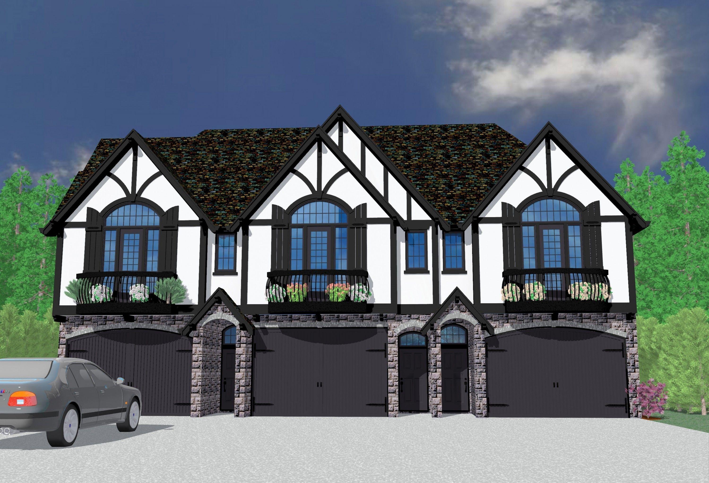 Three Dimes House Plan Old World European Homes Modern Style House Plans House Plans Investment House
