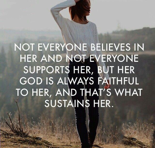 Not everyone believes in her...   Zitate, Mein leben ...