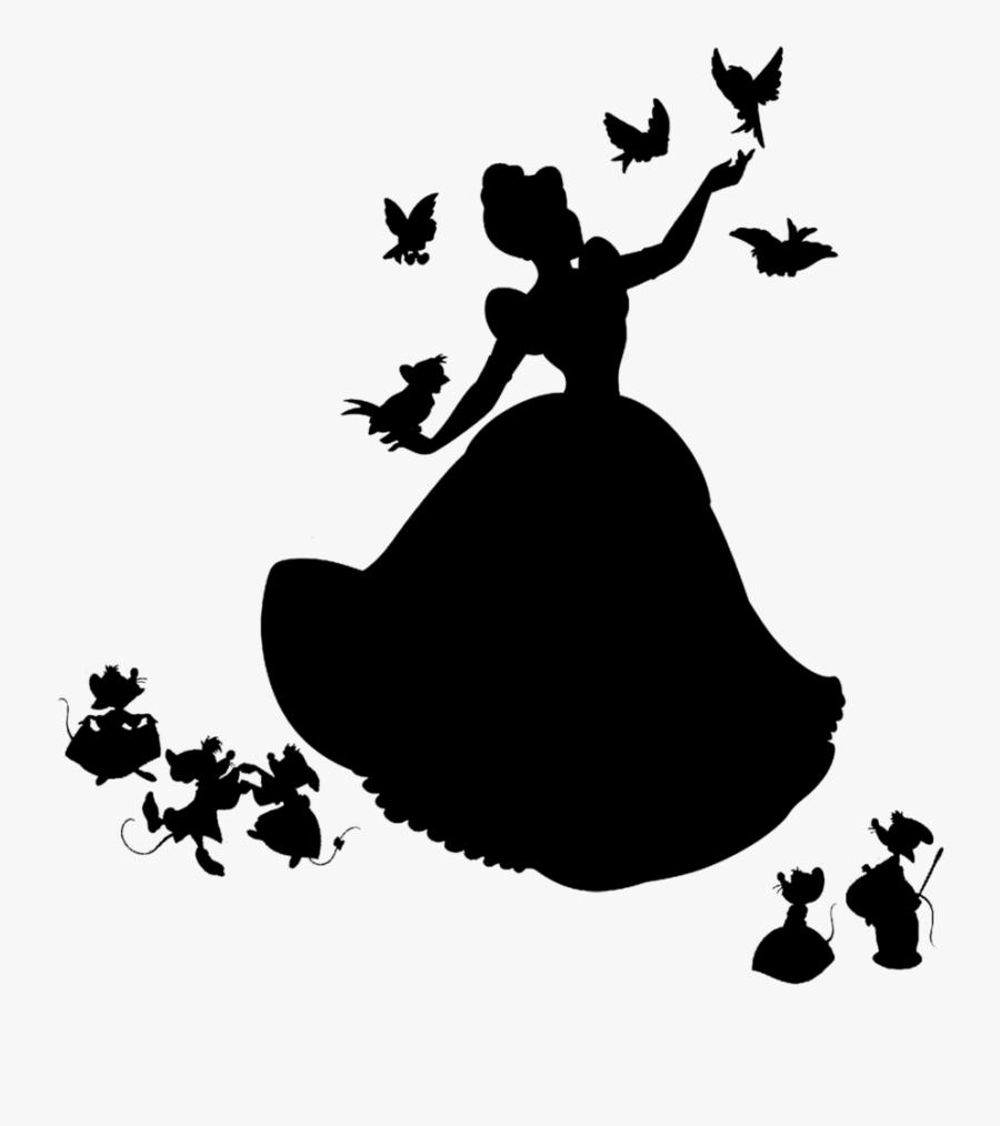 Silhouette Graphics Font Transparent Cinderella Mice Silhouette Svg Is A Free Transparent Backgroun Cinderella Mice Disney Princess Silhouette Silhouette Svg