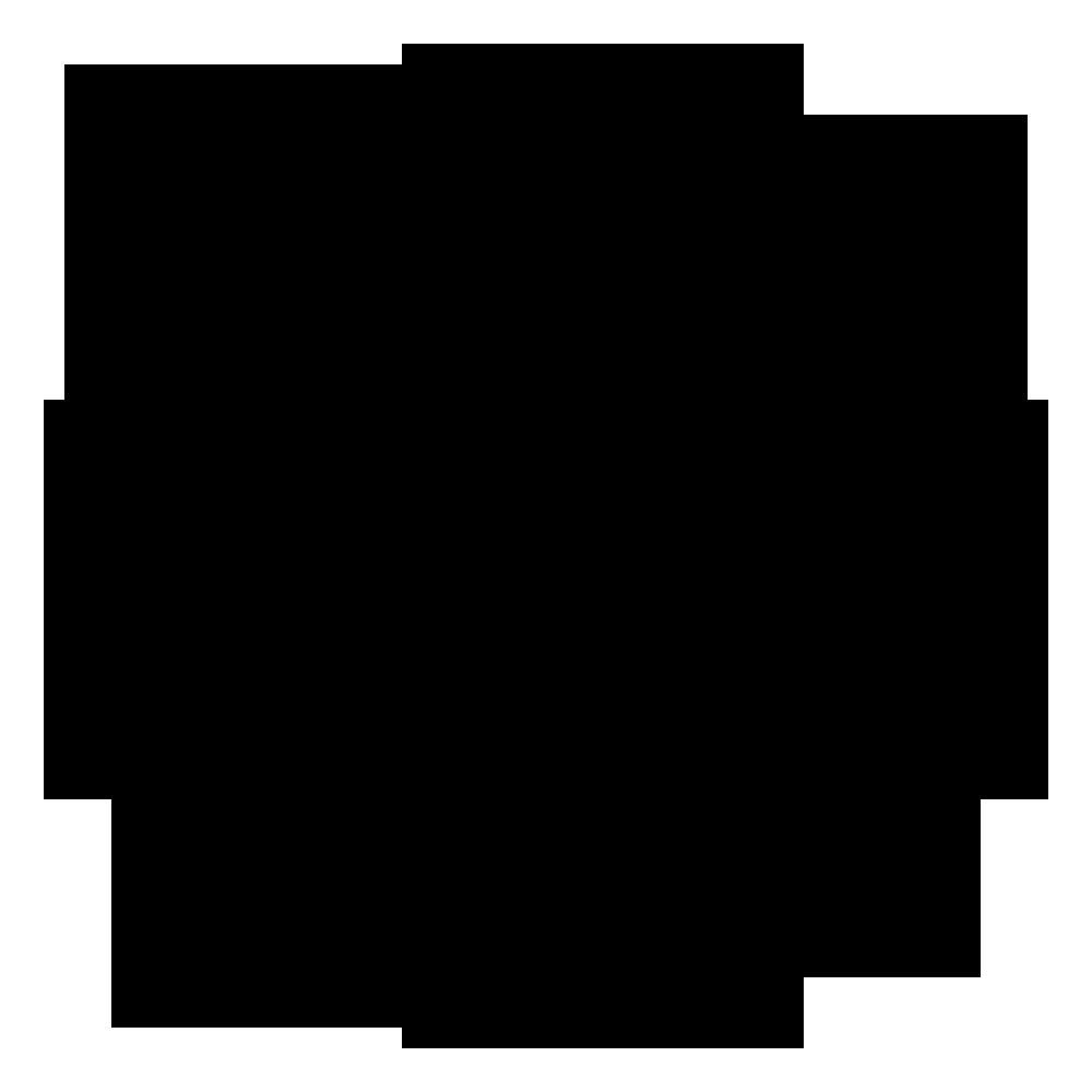 七宝紋の一種 家紋 中陰七宝に日向花菱のepsフリー素材 家紋