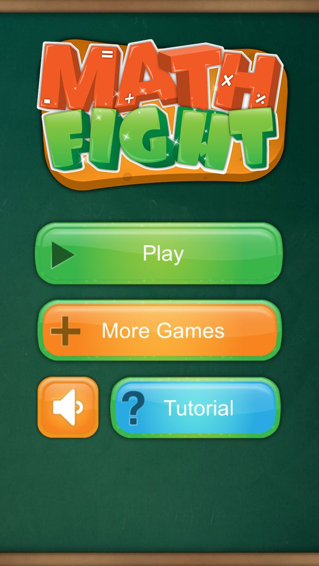 Math Fight 2 Player Game For Iphone And Ipad Math Iphone