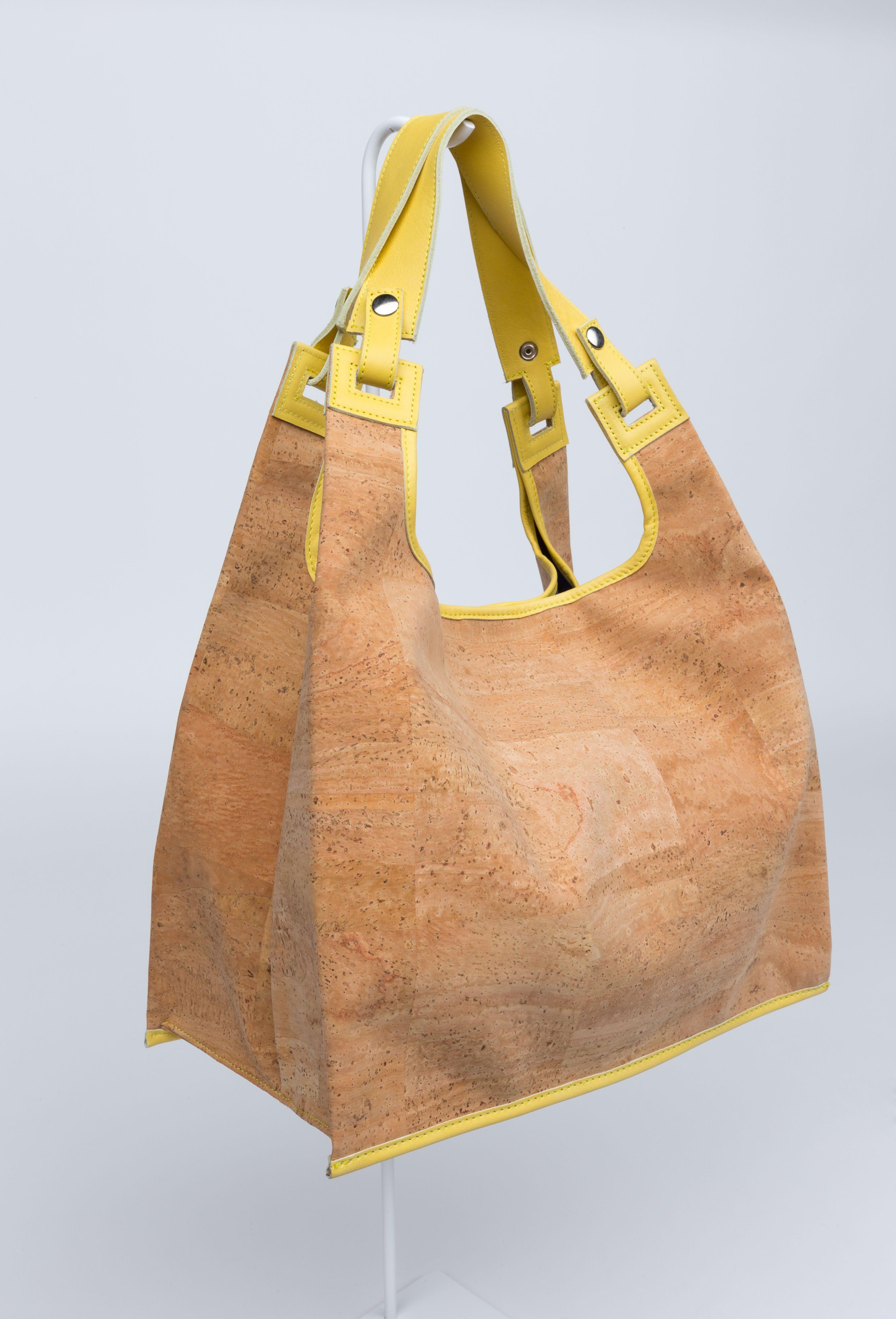 Supermarket Bag Cork SS15 | Lumi Accessories  www.shoplumi.com