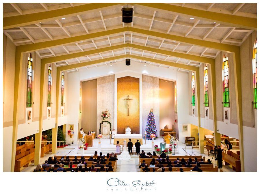 Beautiful Catholic Church Ceremony St Joachim Newport Beach Ca By