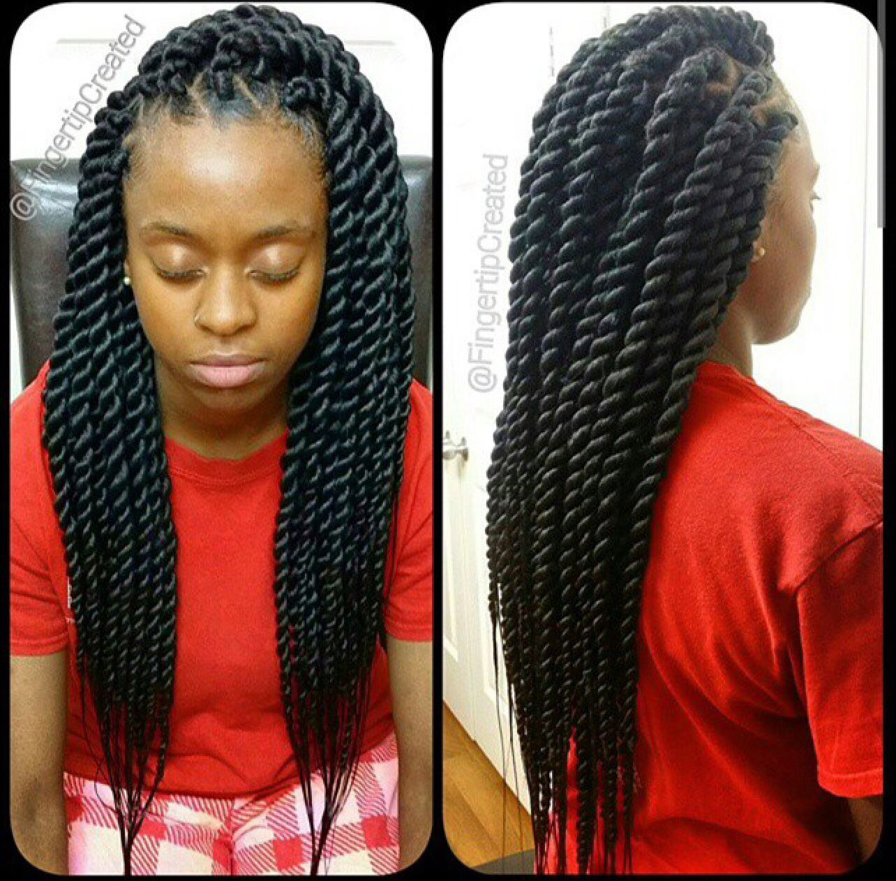 chunky senegalese twists | braids ouch that hurt! | braided