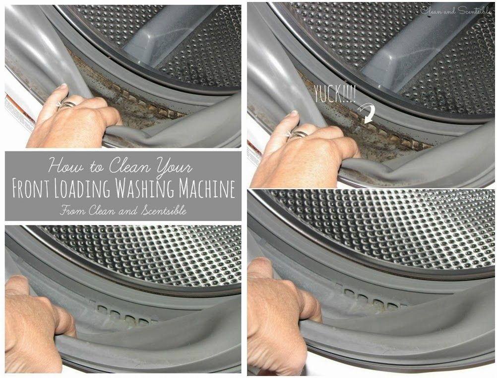 How To Clean Front Loader Washing Machine Washing Machine Clean