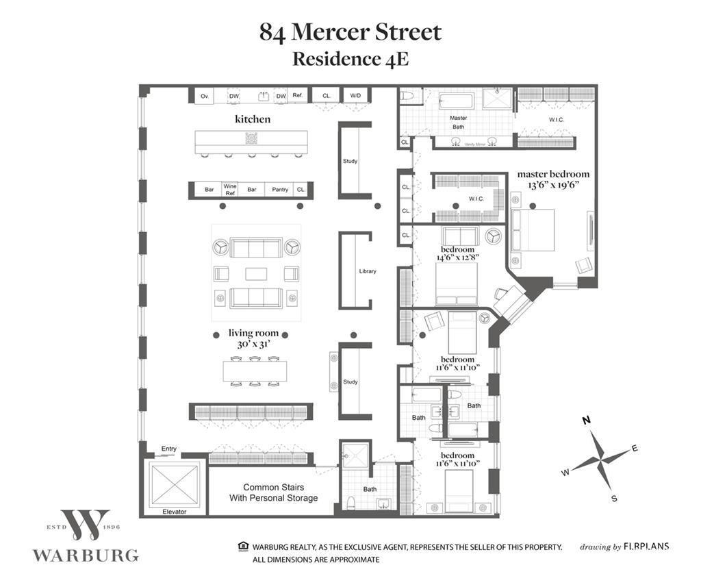 Austere, gut-renovated Soho loft wants $11.5M | Loft floor ...