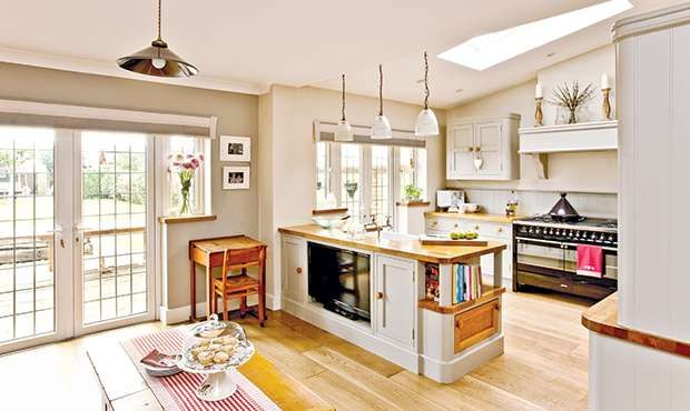 Open Plan Family Kitchen Diner Real Homes Open Plan Kitchen Dining Living Open Plan Kitchen Living Room Kitchen Diner