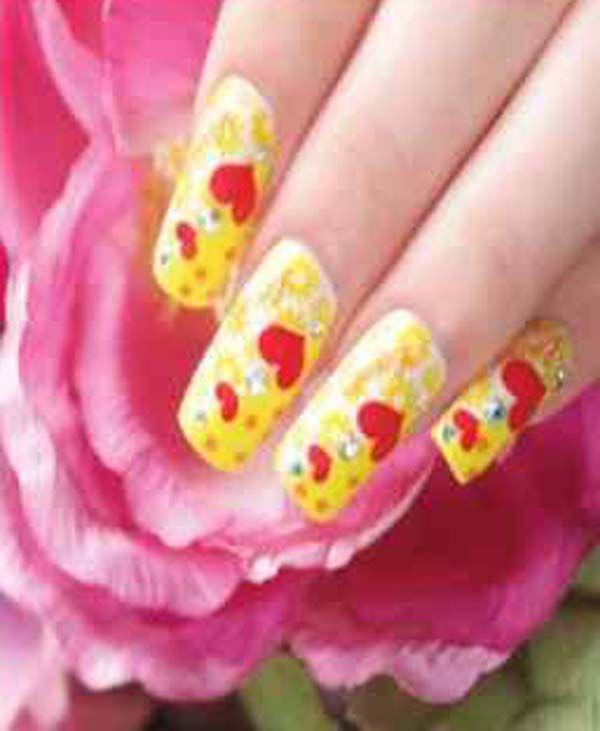 Love Nail Art Design   Pink nail designs   Pinterest   Pink nails