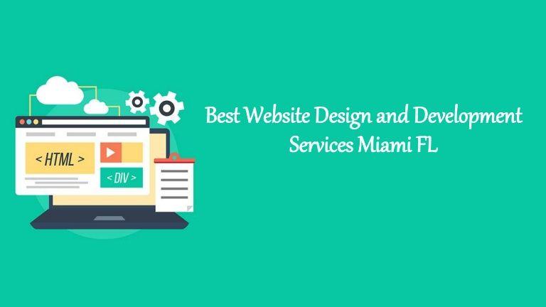 Website Design And Development Services In Miami Fl In 2020 Fun Website Design Website Design Web Development Design