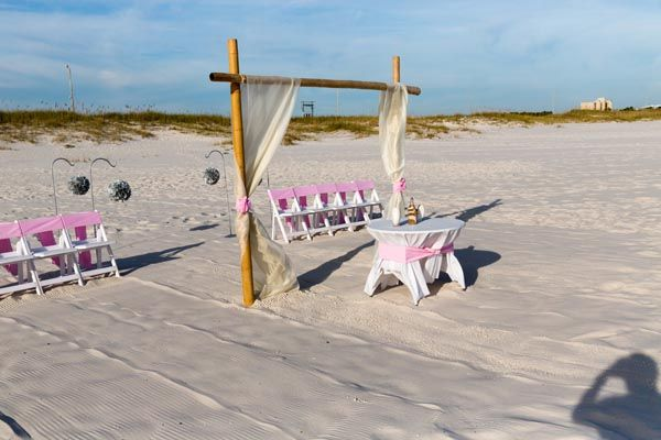 Paradise Beach Wedding Package Photo Gallery Beautiful Orange And Gulf Shores Alabama