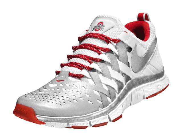 nike free trainer 5.0 ohio state shoe for sale