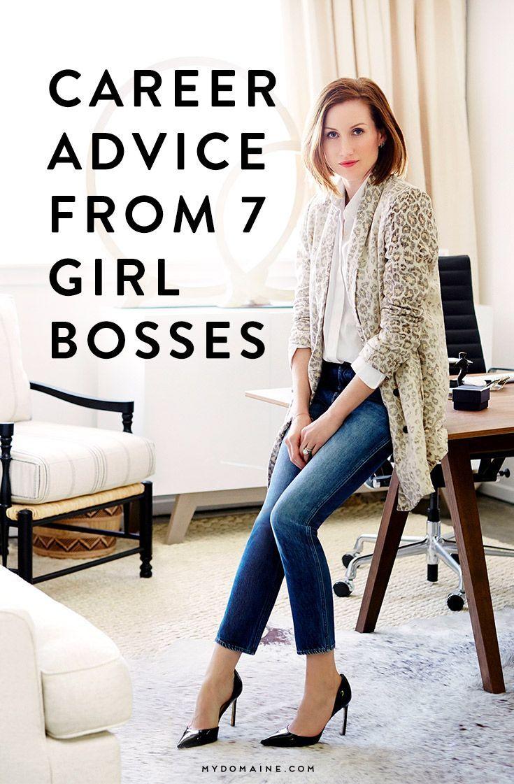 7 Girl Bosses Share Their Best Career Advice