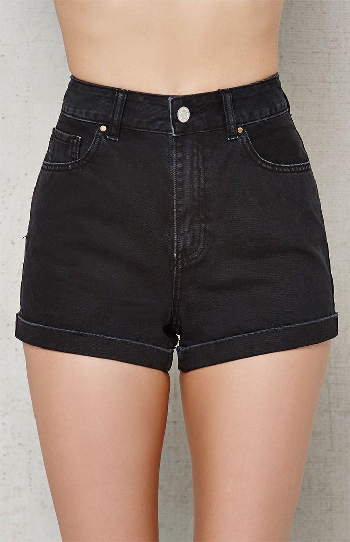 1303cc1f8e PacSun Sabbath Cuffed Denim Mom Shorts at PacSun.com | Clothes I ...