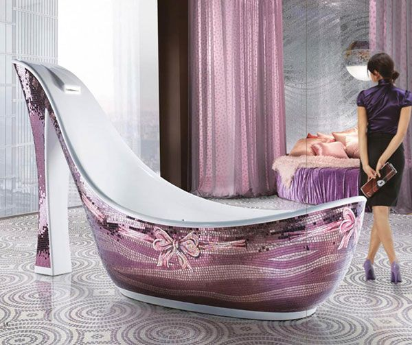 Je flotte dans mes chaussures | Room style, Bath room and Bath