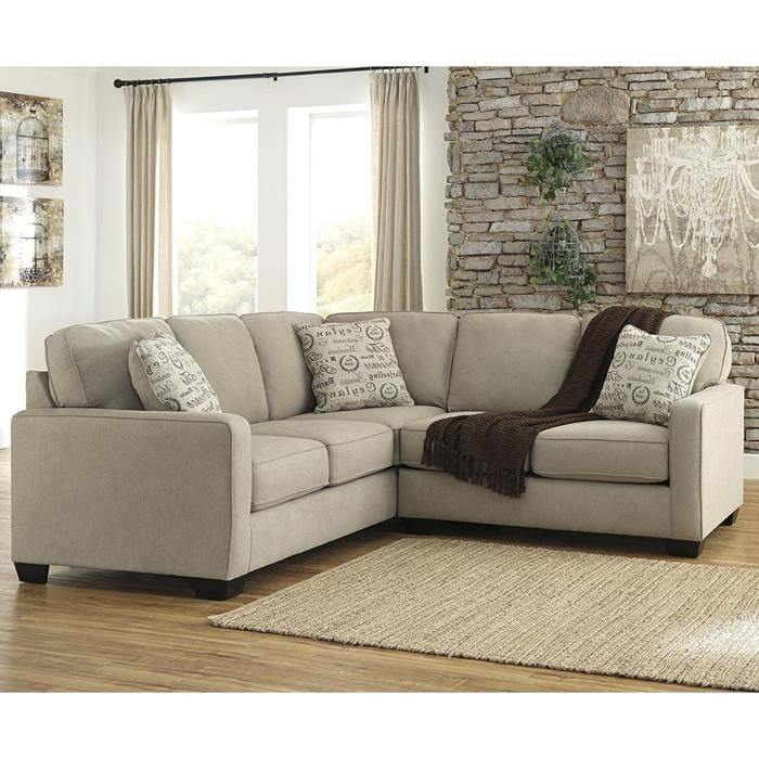 Best Signature Design By Ashley Alenya 2 Piece Sectional In 400 x 300