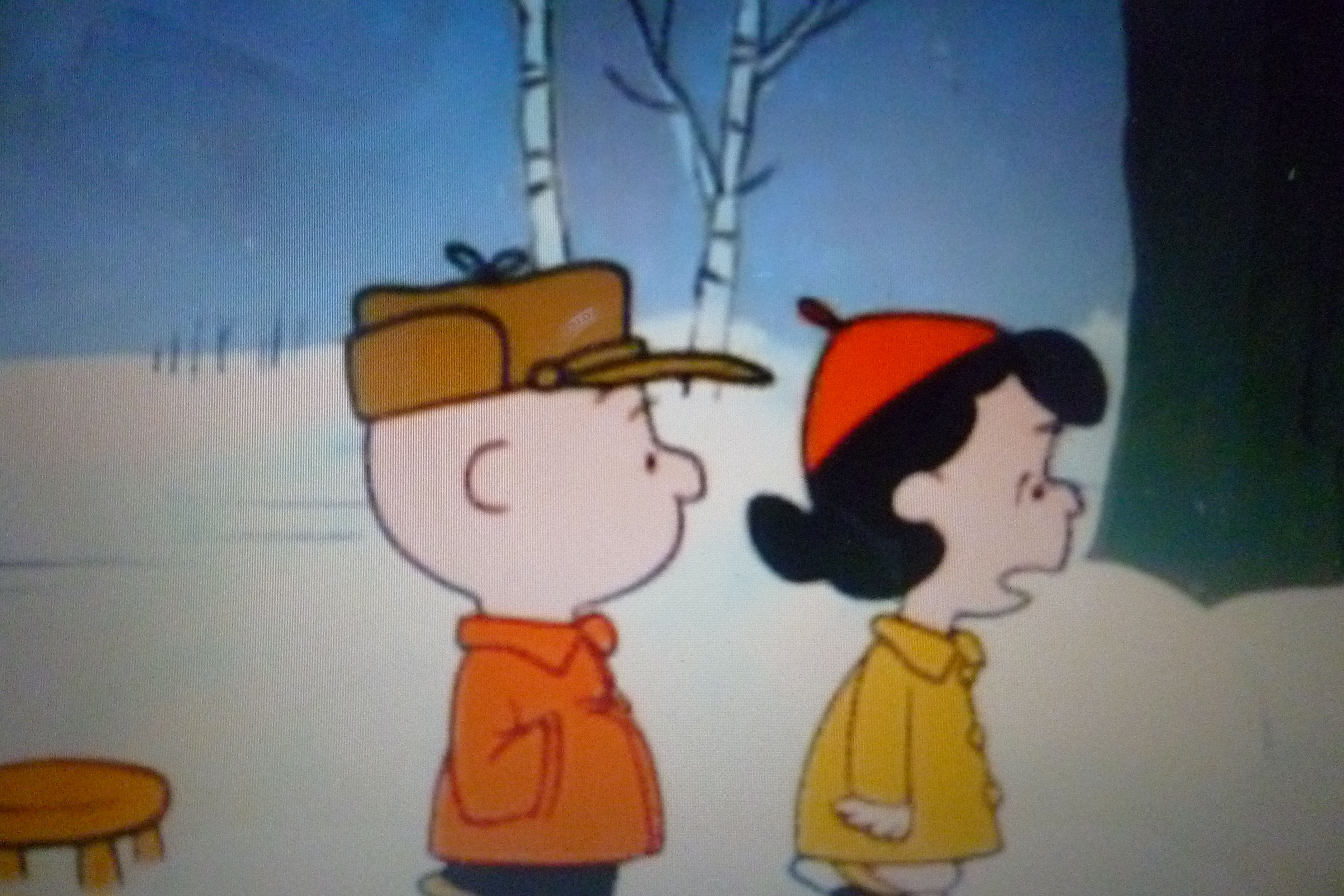 Charlie Brown Christmas Lucy I Never Get What I Really