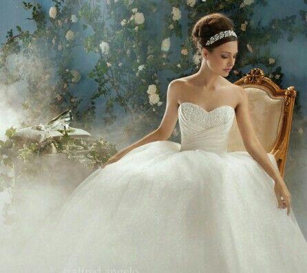 vestido de novia estilo cenicienta | bridal look | pinterest | 웨딩