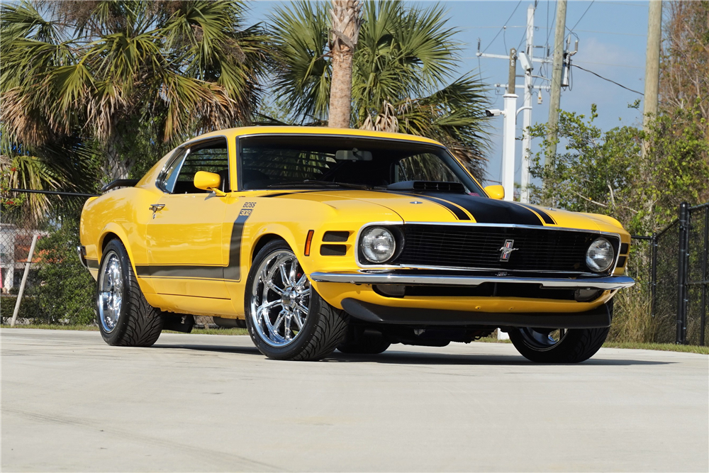 Available* at Palm Beach 2018 - Lot #139 1970 FORD MUSTANG CUSTOM ...