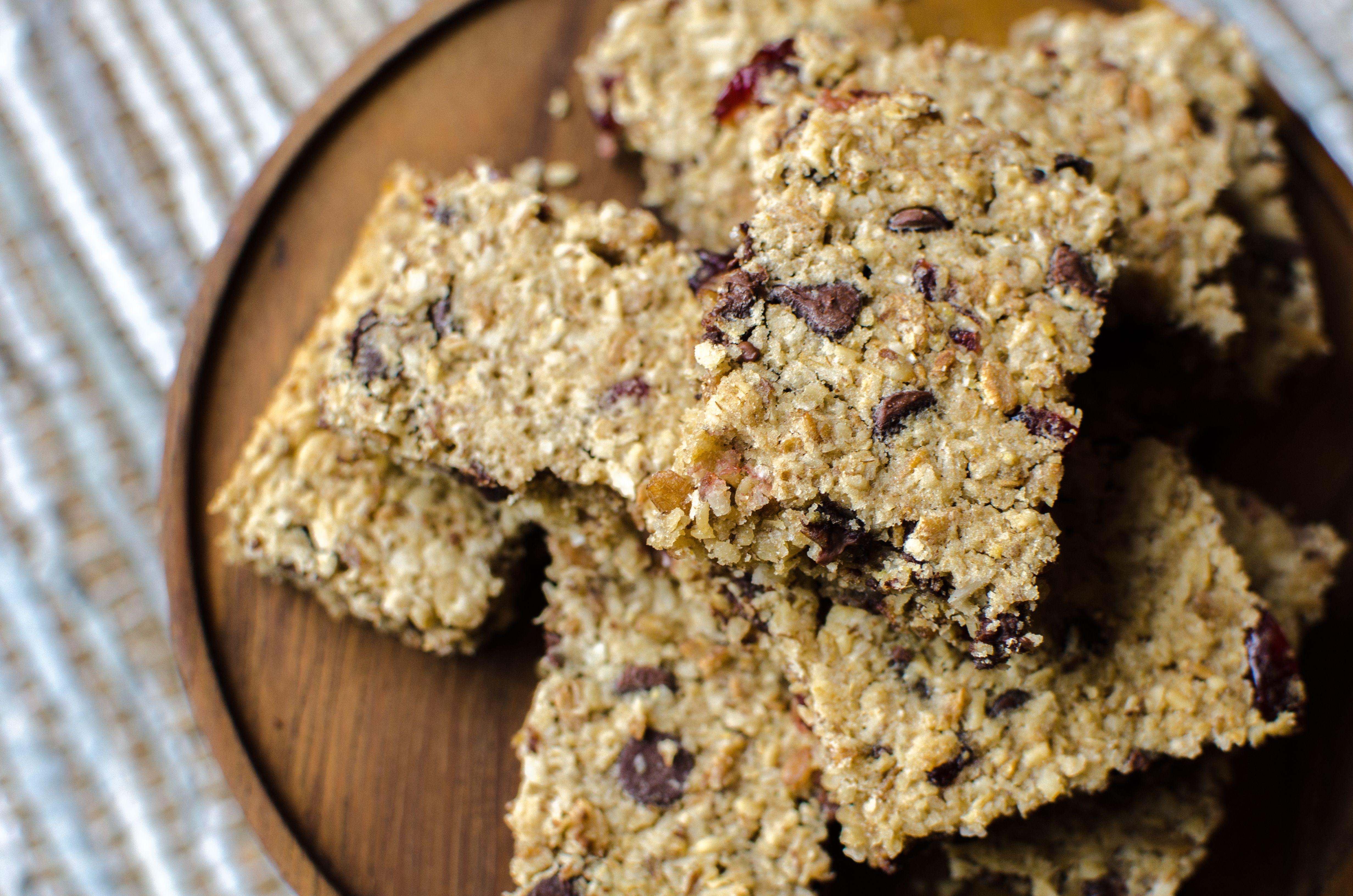 Whole Grain Cereal Bars   Rezept