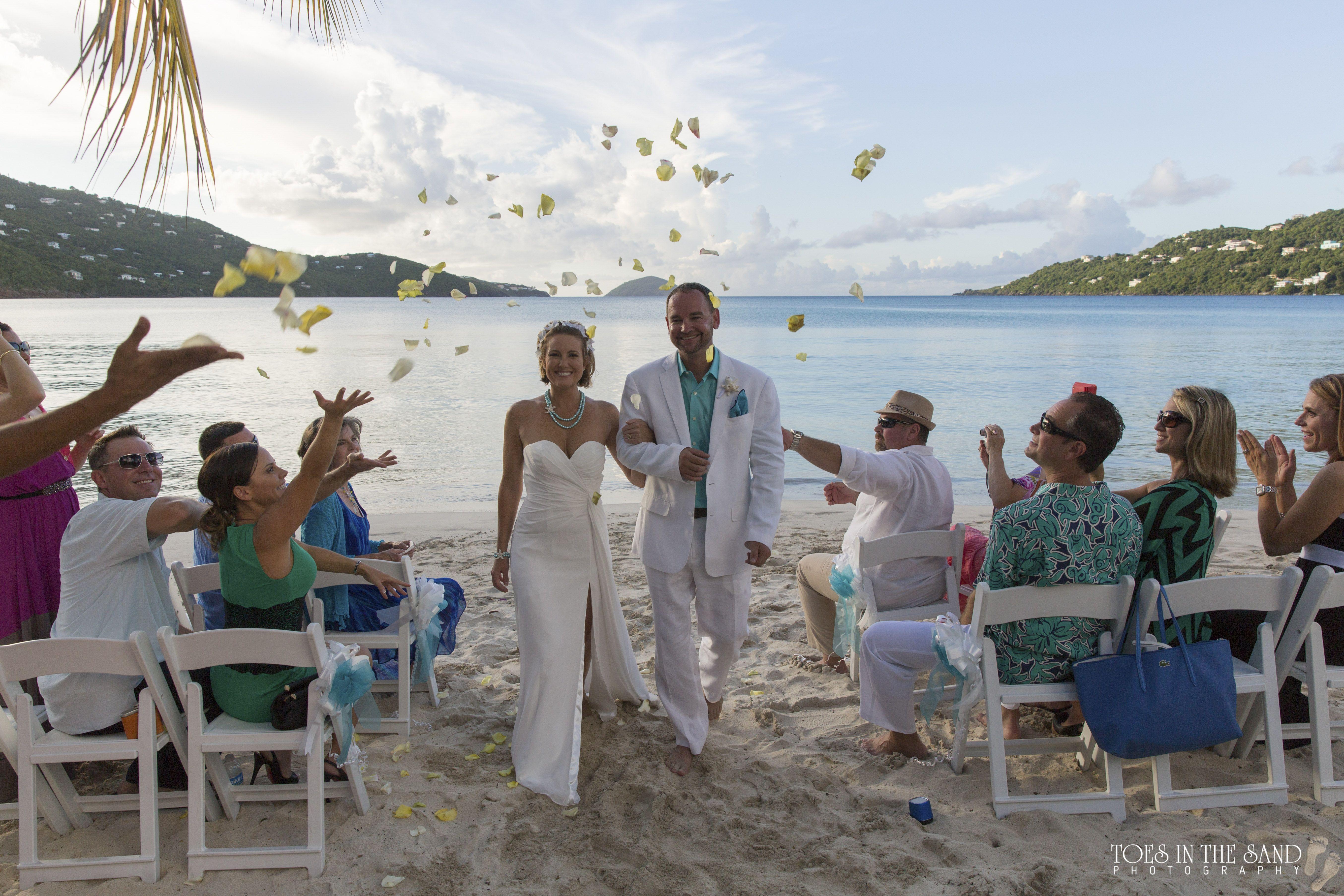 magens bay beach wedding st thomas caribbean usvi toes in the rh pinterest co uk
