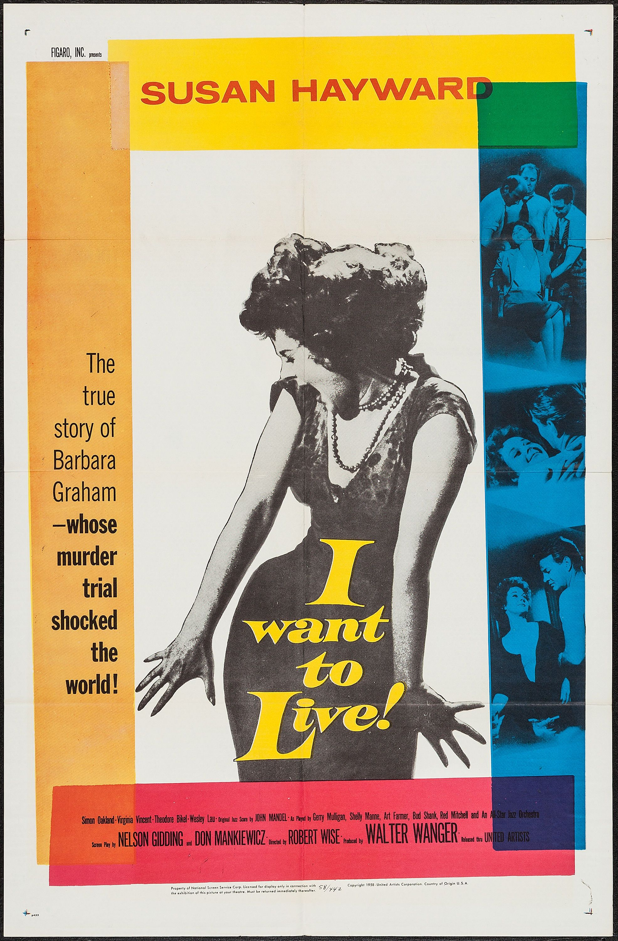 I Want To Live 1958 Cult Movie Memorabilia Pinterest Movies