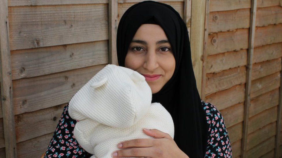 """Khadija is named after """"a very strong independent woman"""" in the Islamic faith, says her mum   PIC: BBC"""