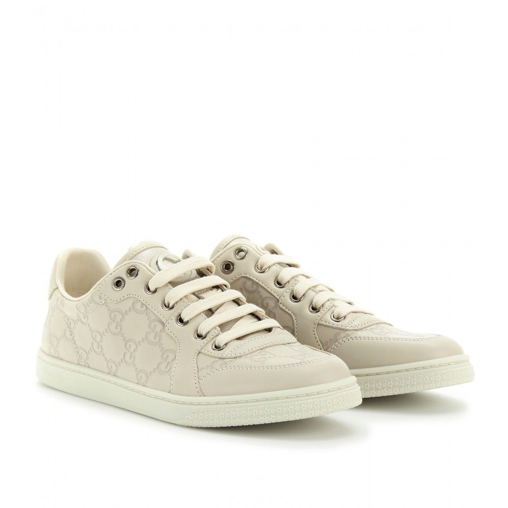9fe8707bf mytheresa.com - Gucci - LOW CODA LEATHER LOGO SNEAKERS - Luxury Fashion for  Women / Designer clothing, shoes, bags