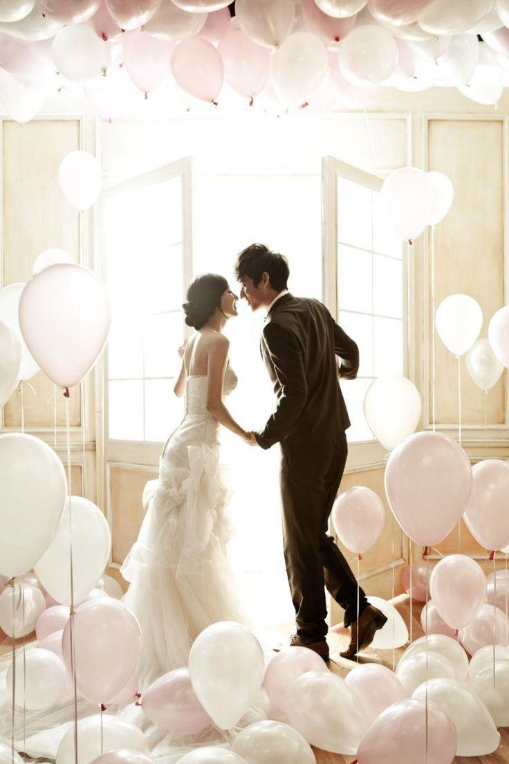 40+ Korean Romantic Pre-Wedding Theme Photoshoot Ideas | Korean ...