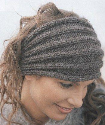 Headband and Headwrap Knitting Patterns | Knitting | Pinterest