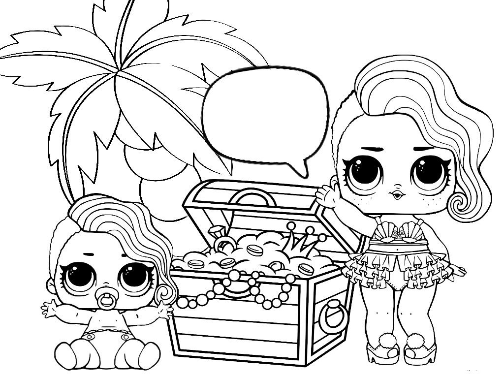 Värityskuvia image by hilma | Coloring pages, Lol dolls ...