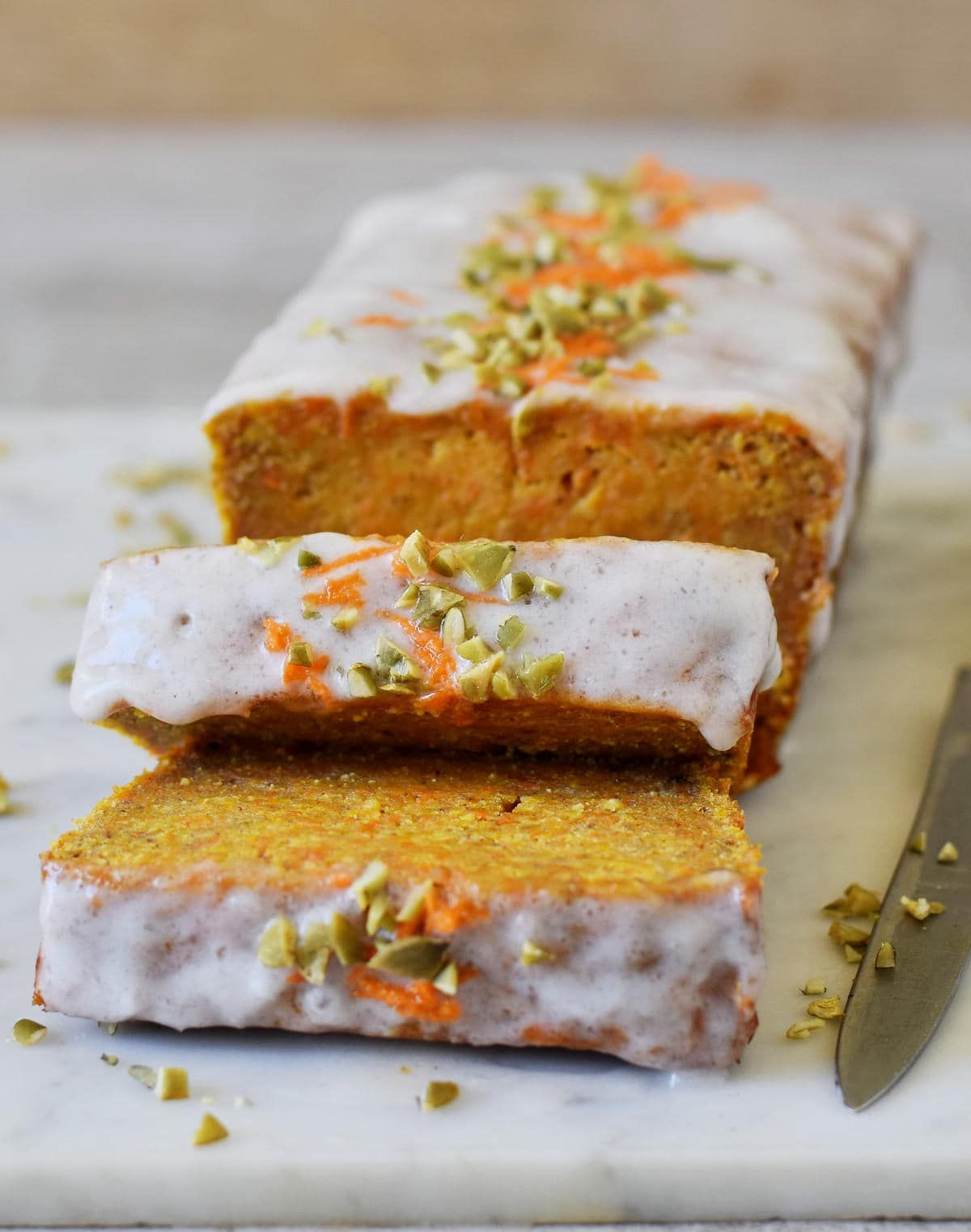 Delicious and moist vegan carrot cake this simple recipe