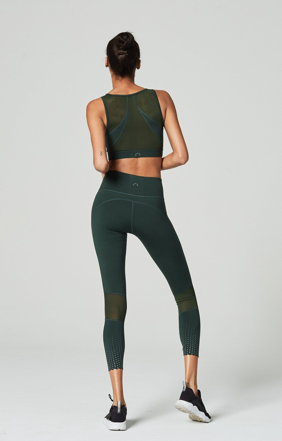 8cb6eed7f27 Varley Green Russell Sports Bra available at Fashercise.com
