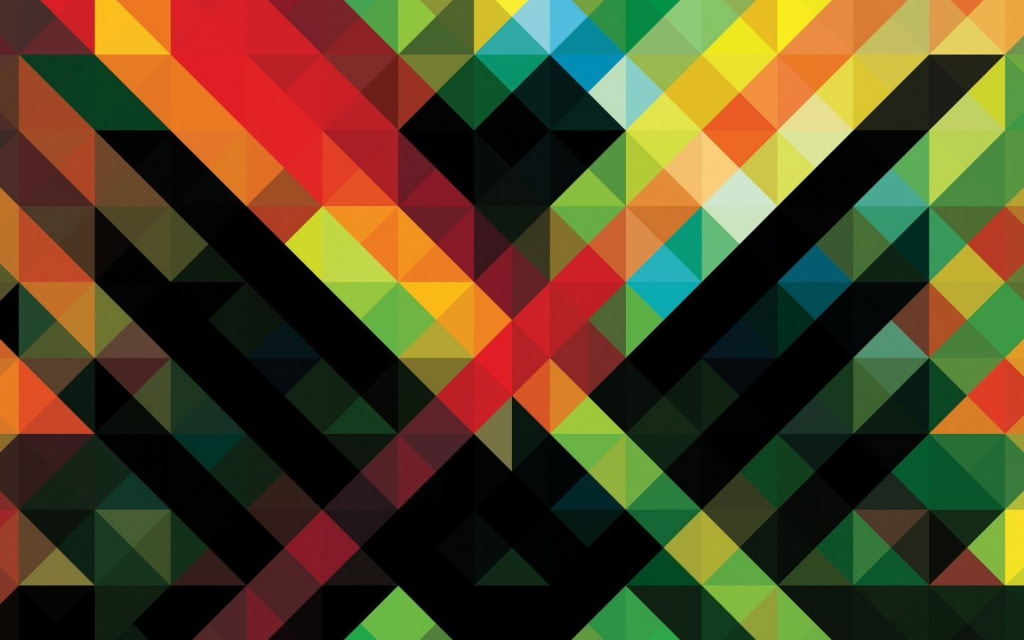 X Abstract Colorful Pattern Desktop Pc And Mac Wallpaper