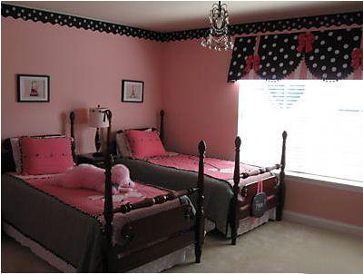 Design Dazzle Pink Black Girls Rooms Black Bedroom Decor Girls Room Design Girl Nursery Themes Pink