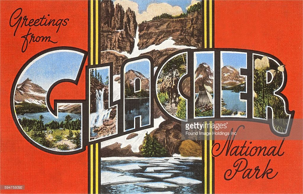 Greetings from glacier national park large letters greetings from glacier national park m4hsunfo