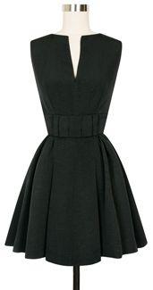 Candice Gwinn Bitsy Belle Dress bitsy2-blackribbedrayon