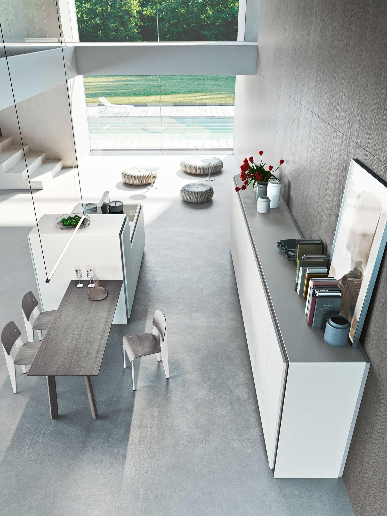 cucina moderna Elle | Interior design - home | Pinterest | Cucine ...