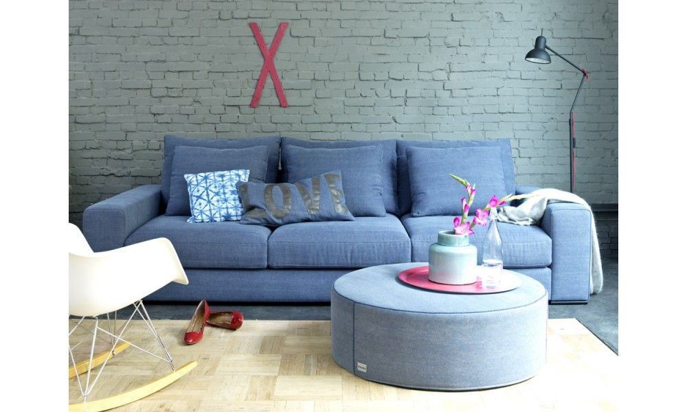 Lounge zits bank lounge van coming lifestyle met extra diepe