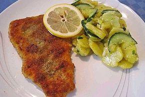 Kartoffel - Gurkensalat nach Oma Luise | Rezept | Essen ...