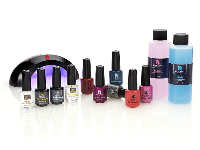 RED CARPET MANICURE KIT A mani that doesn\'t chip is no longer just a ...
