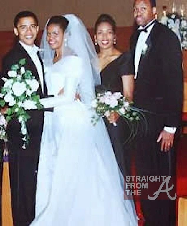 Barack Michelle Obama Anniversary Sfta 12 Celebrity Wedding
