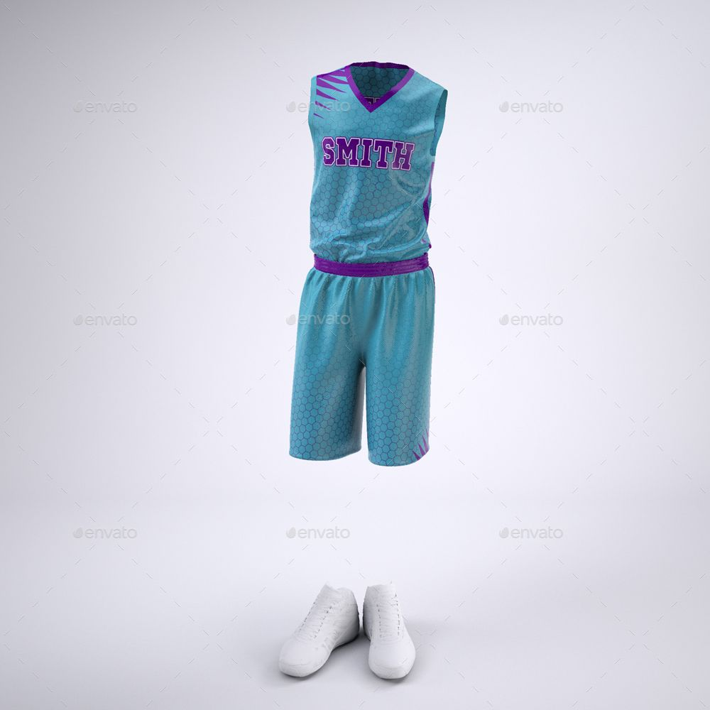 Basketball Jersey And Shorts Uniform Mock Up Basketball T Shirt Designs Nike Basketball Shorts Basketball Jersey