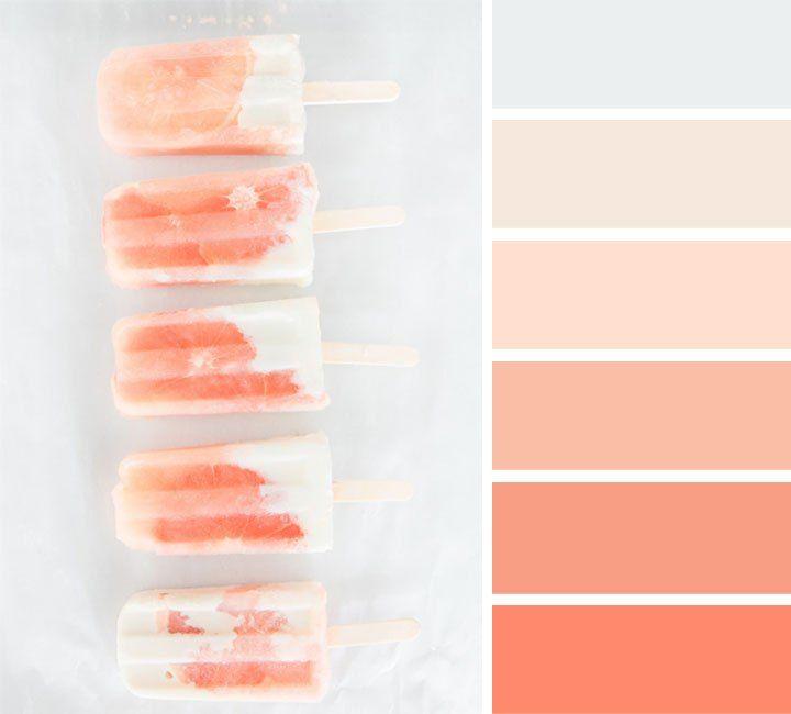 light grey and peach color palette peach color colorpalette