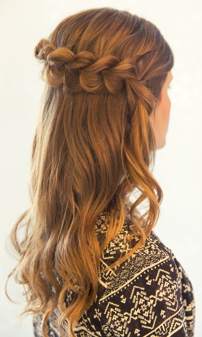 Check out this adorable hairstyle - The Pull Through Dutch Braid. Inspired by L'Oreal Advanced Hairstyle #braid #hair #tutorial #beauty