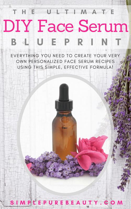 FREE Personalized DIY Face Serum Blueprint #faceserum
