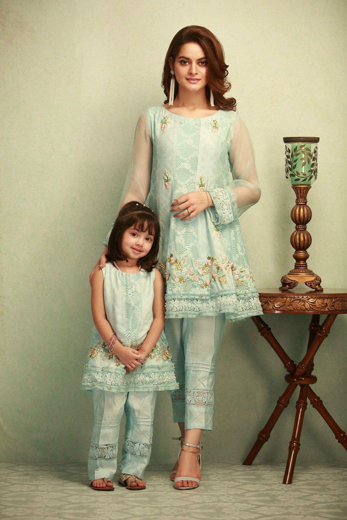 ed2468fb1f Stitched 3 Piece Printed Zari Net Pakistani Ready to Wear Pret Dresses  Online Sale By Phatyma Khan Winter Collection 2017