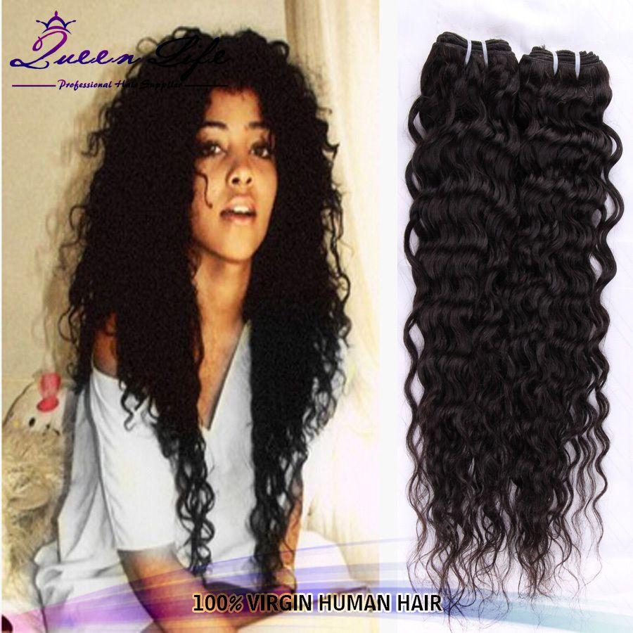Brazilian Deep Wave Curly Virgin Hair 3pcs4pcs lot Brazilian Deep curly  Brazilian Kinky Curly Weave Queen