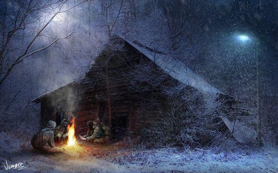 Photo of Winter camp, Sergey Taranik