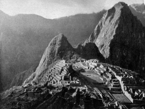 Machu Picchu...I will go here someday.