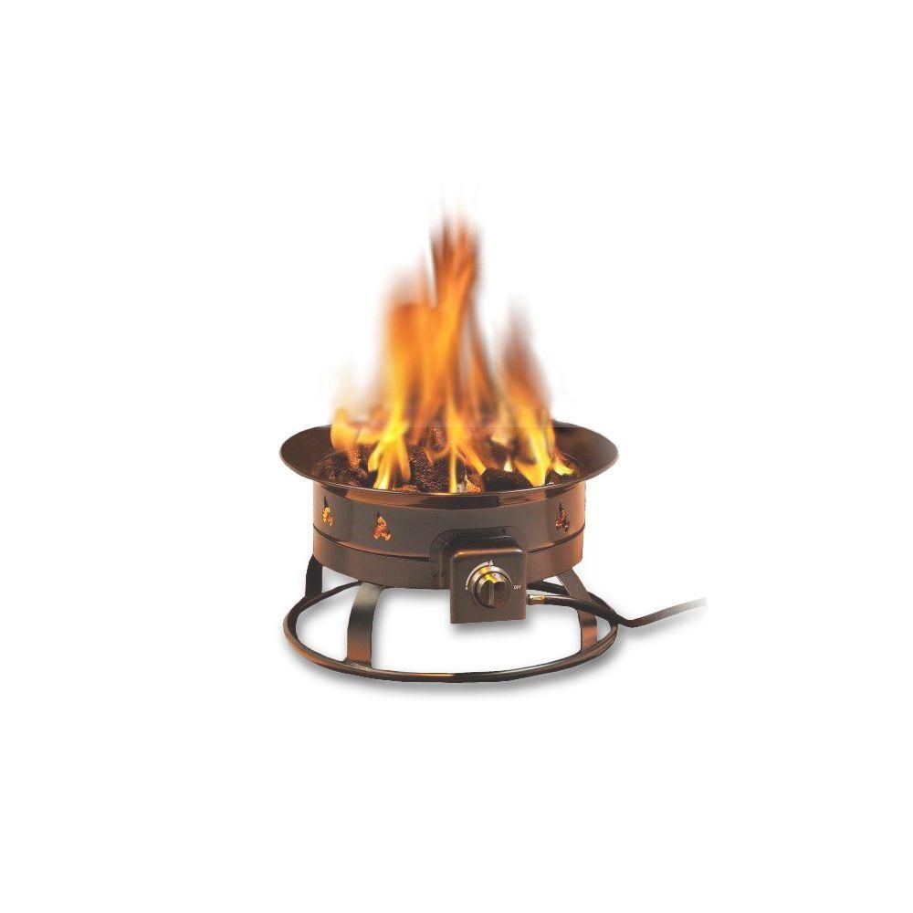 Portable Propane Gas Fire Pit 5995 The Home Depot